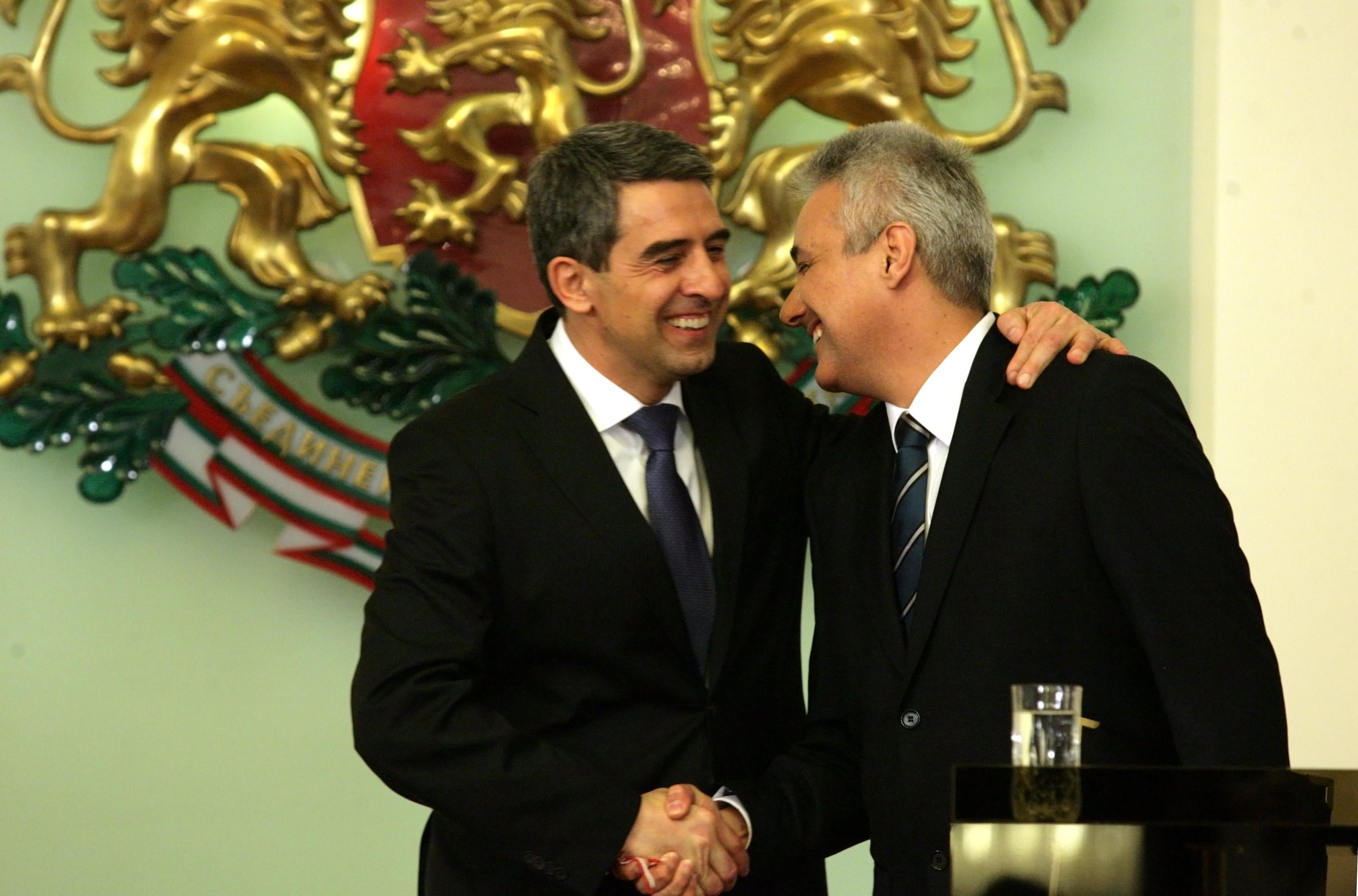 Президентът назначи служебното правителство и насрочи изборите