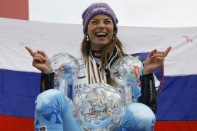 Тина Мазе спечели последния старт от Световната купа