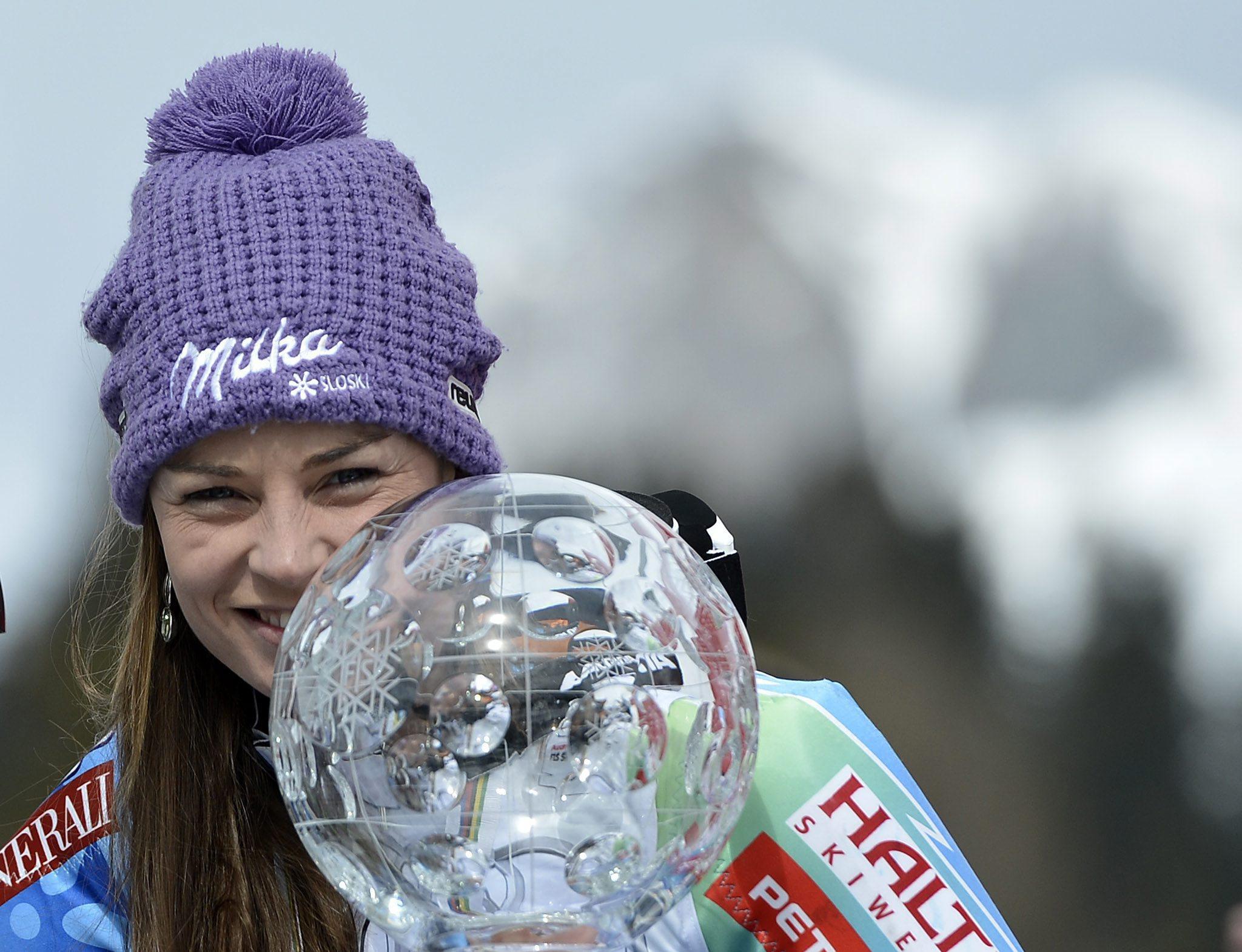 Тина Мазе завърши подобаващо сезона с победа