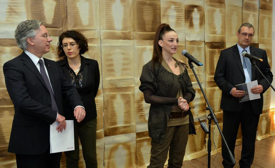 Деси Тенекеджиева откри впечатляваща изложба