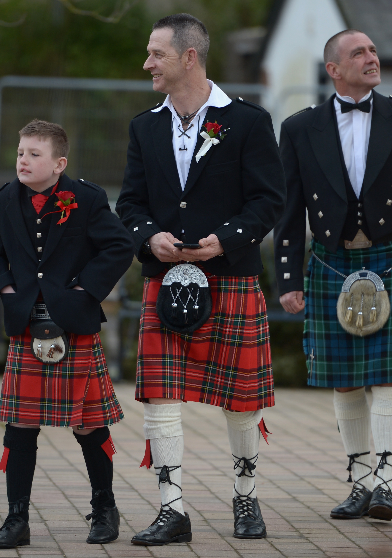 Мъжете, които носят шотландски полички, са по-плодовити