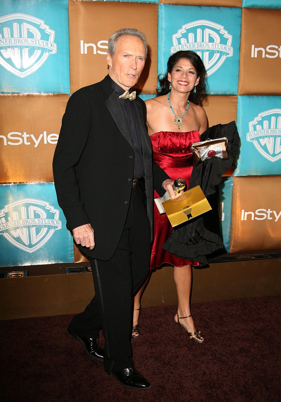 Клинт Истууд със съпругата си Дина Руис