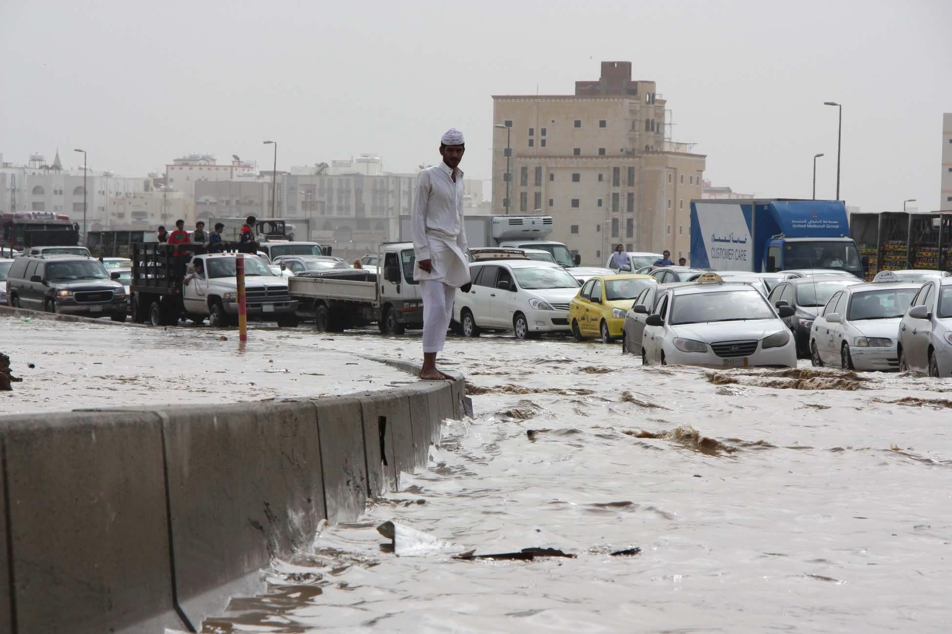 Наводнения в Саудитска Арабия, суша на Балканите