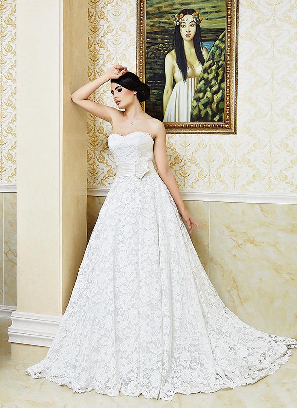 Булчинска рокля според характера
