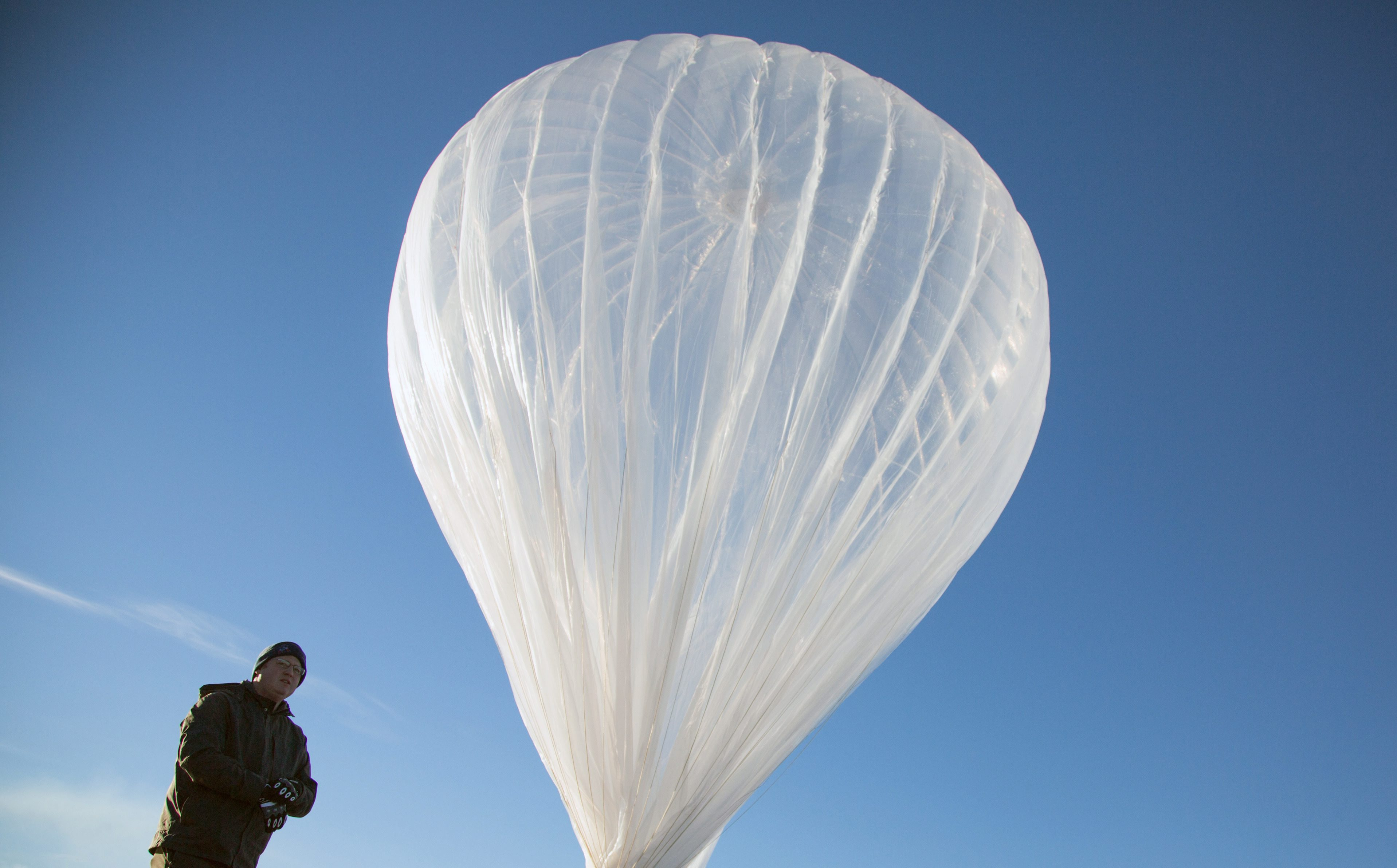 Google предлага на Индия интернет от балони