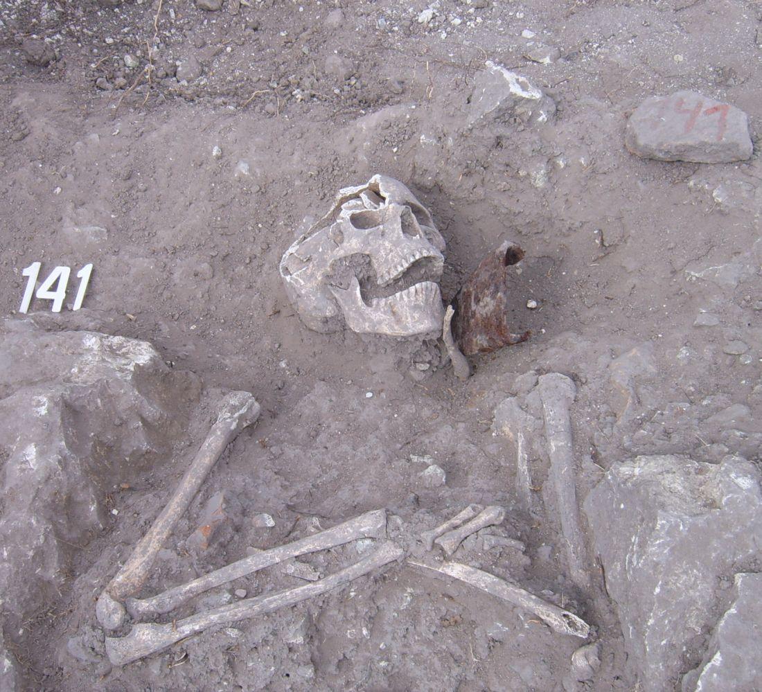 """Проф. Овчаров откри скелет на """"вампир"""" и на Перперикон"""