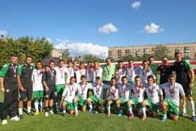 България (U16) финишира годината с 1:1 срещу немци
