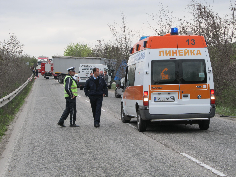 Млад мъж загина при катастрофа край Бяла