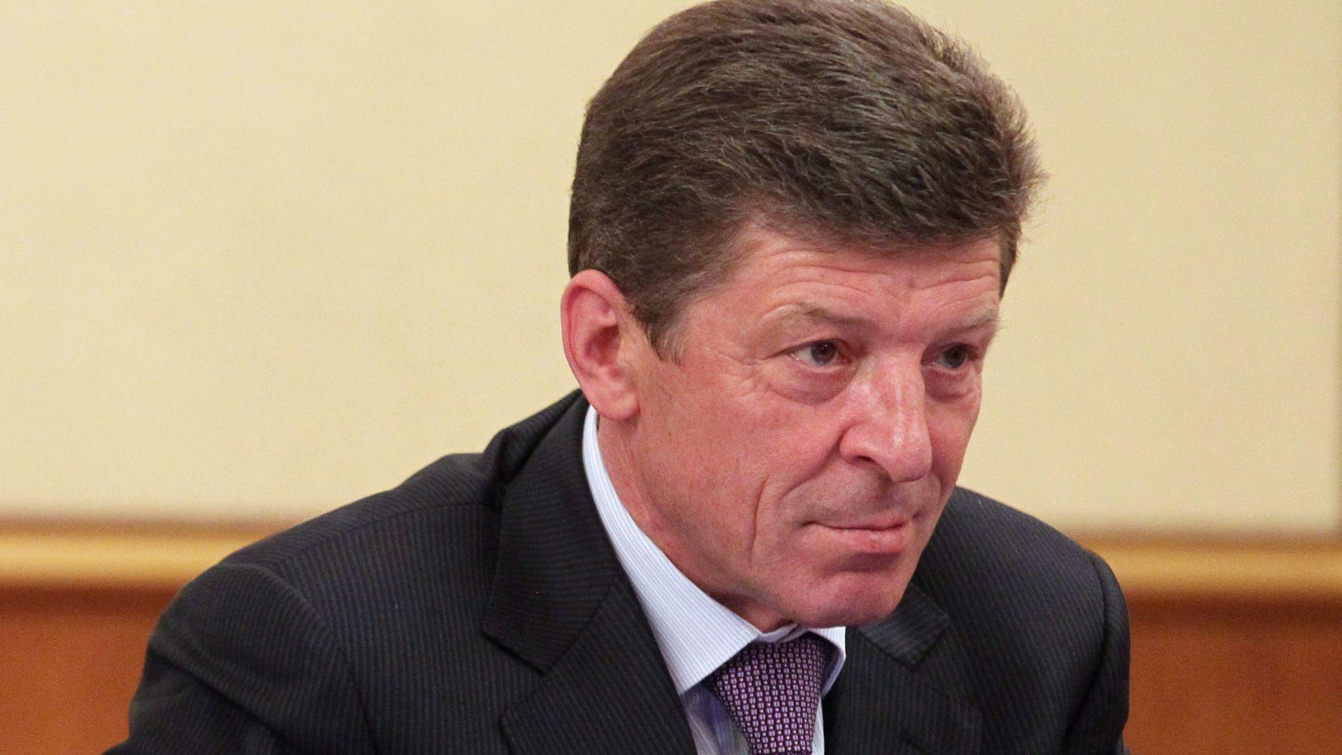 """Вицепремиер на Русия влезе в """"черния списък"""" на ЕС"""