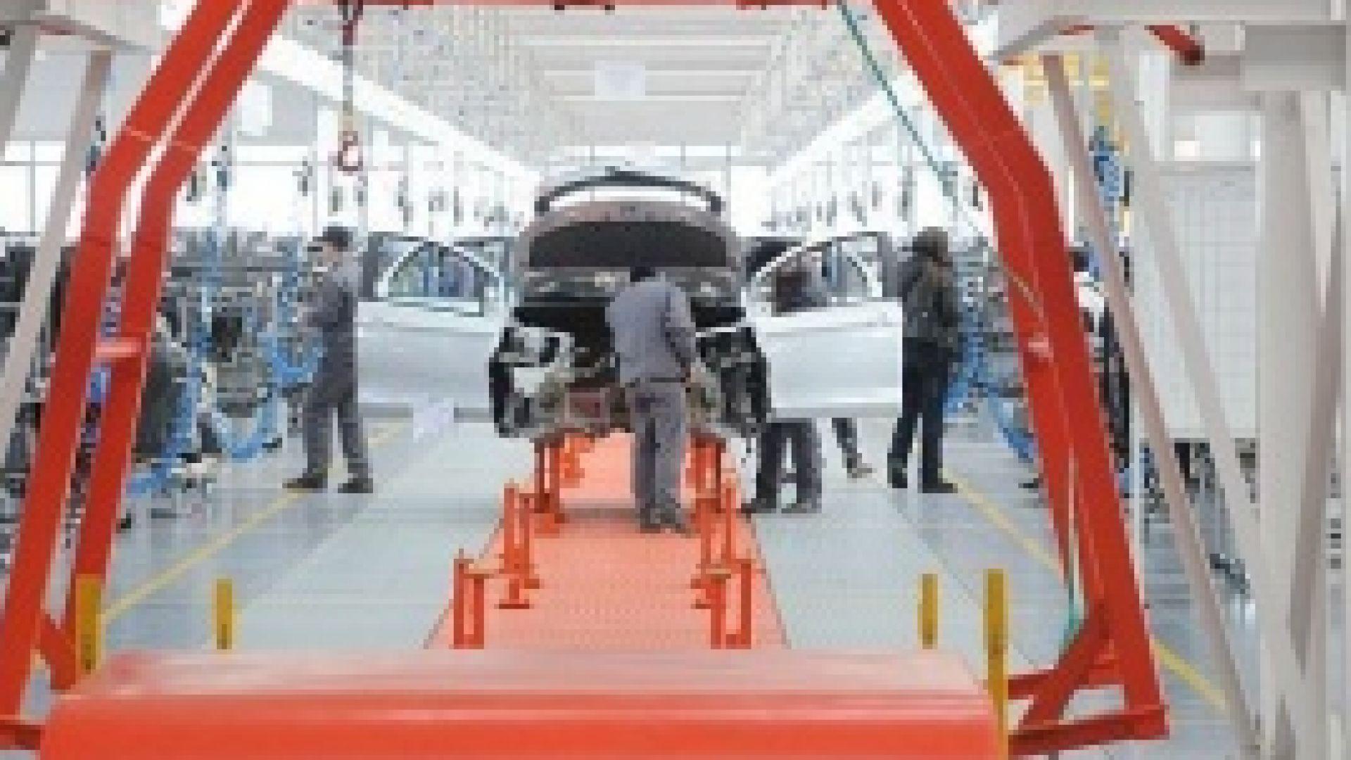 Индустрията в БГ расте по-бързо от средното за ЕС