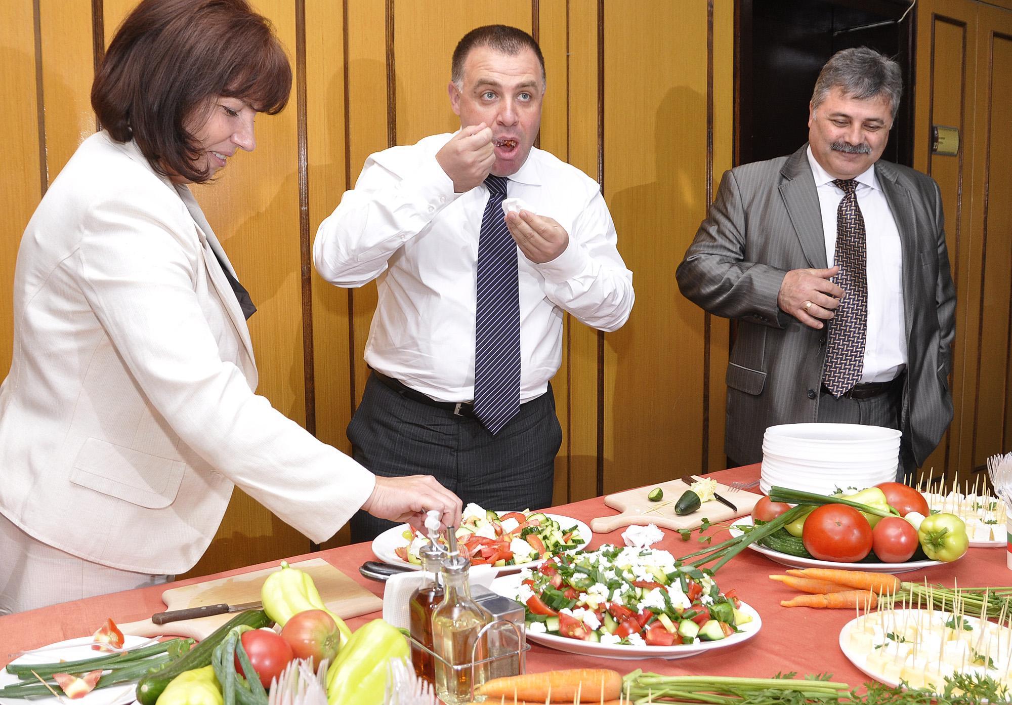 Проучване: Шопската салата е най-предпочитана от европейците