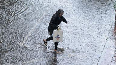 Над 30 сигнала за наводнения са получени в пожарната - Пазарджик