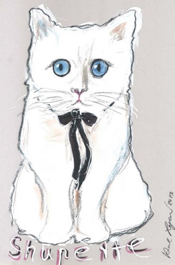 Котката на Лагерфелд представи линия гримове
