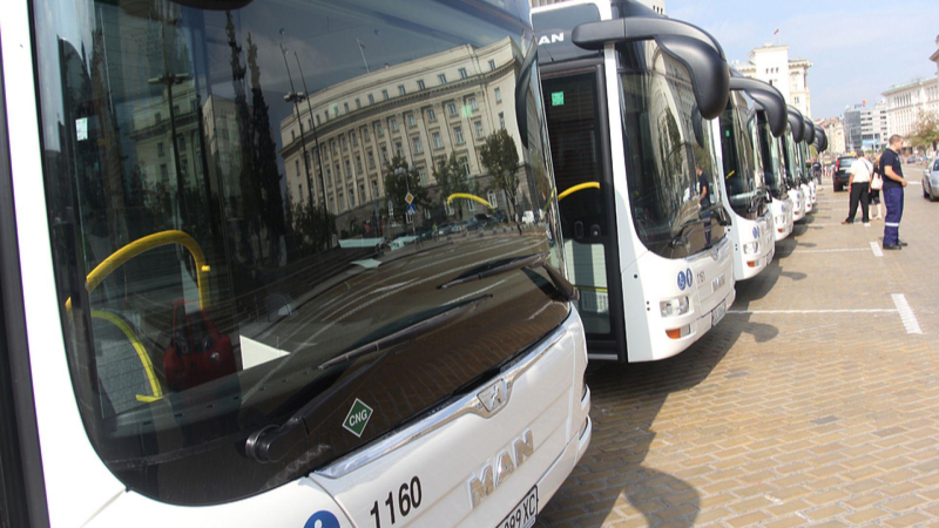 Столична община сключи най-голямата лизингова сделка за доставка на автобуси
