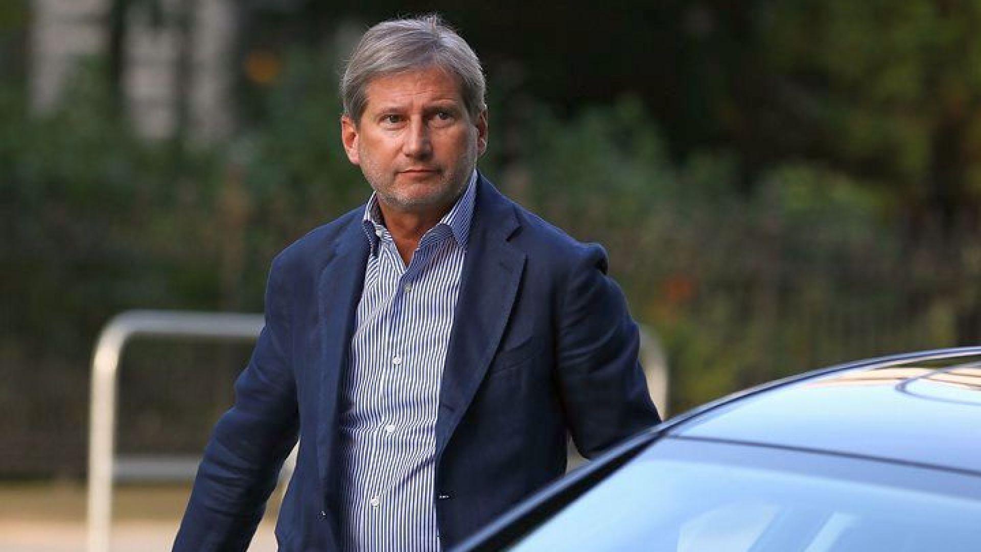 Еврокомисар: Вратите на ЕС са широко отворени за Македония