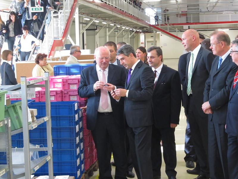 Нов автозавод е открит в Русе (снимки)