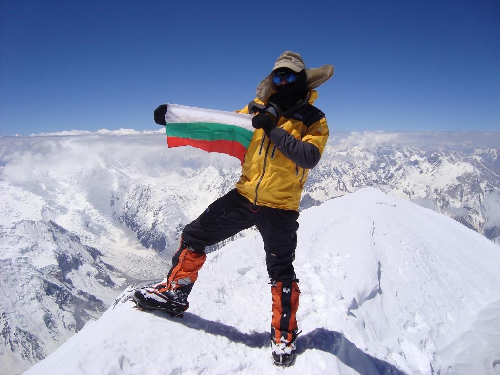Българин за първи път покори връх Манаслу