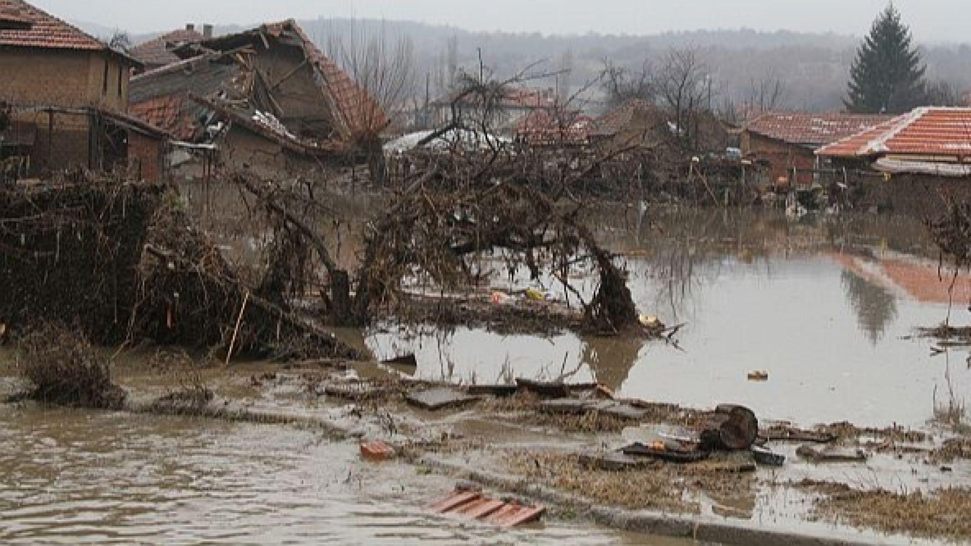 Спряха разследването за потопа в село Бисер