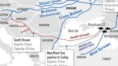 """""""Турски поток"""" минава през България, за да стигне до Италия?"""