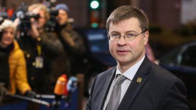 Еврокомисар: Ниските доходи в България не са пречка за еврозоната