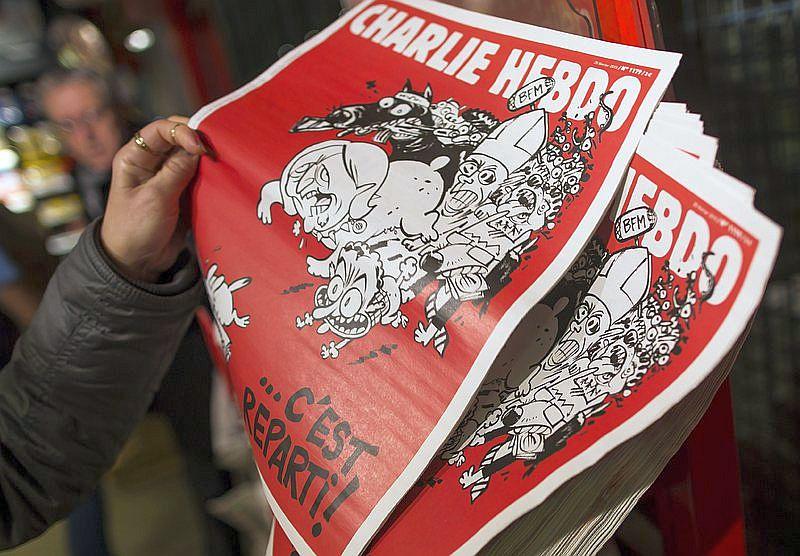 """""""Шарли Ебдо"""" пуска издание на немски език"""