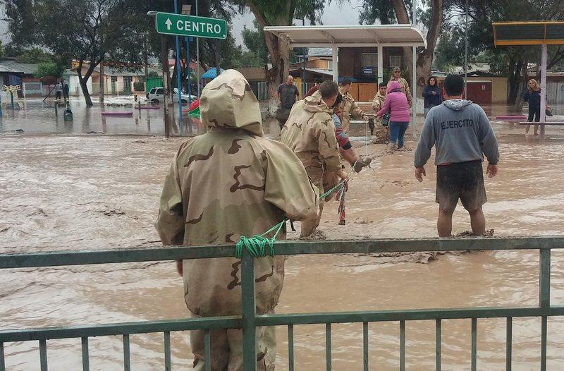 Смъртоносни наводнения в пустинята Атакама в Чили