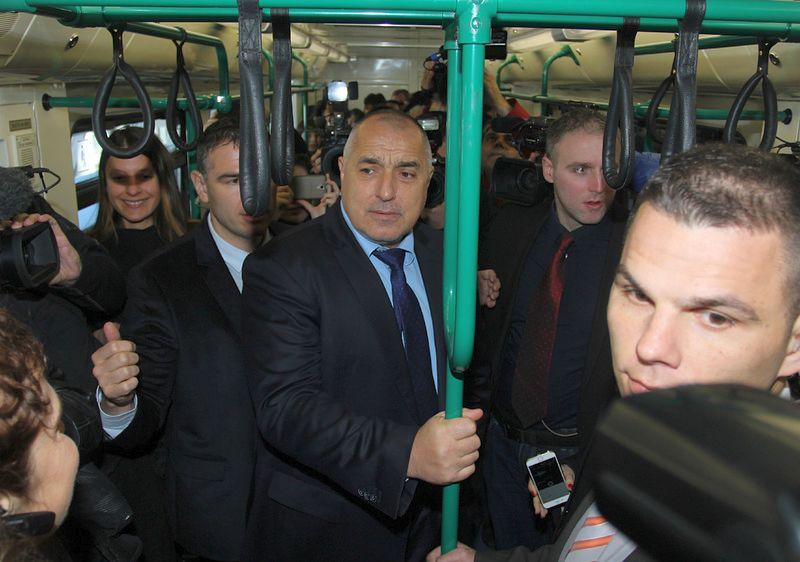 Борисов откри метрото до летището: 30 км за 10 г. от ГЕРБ