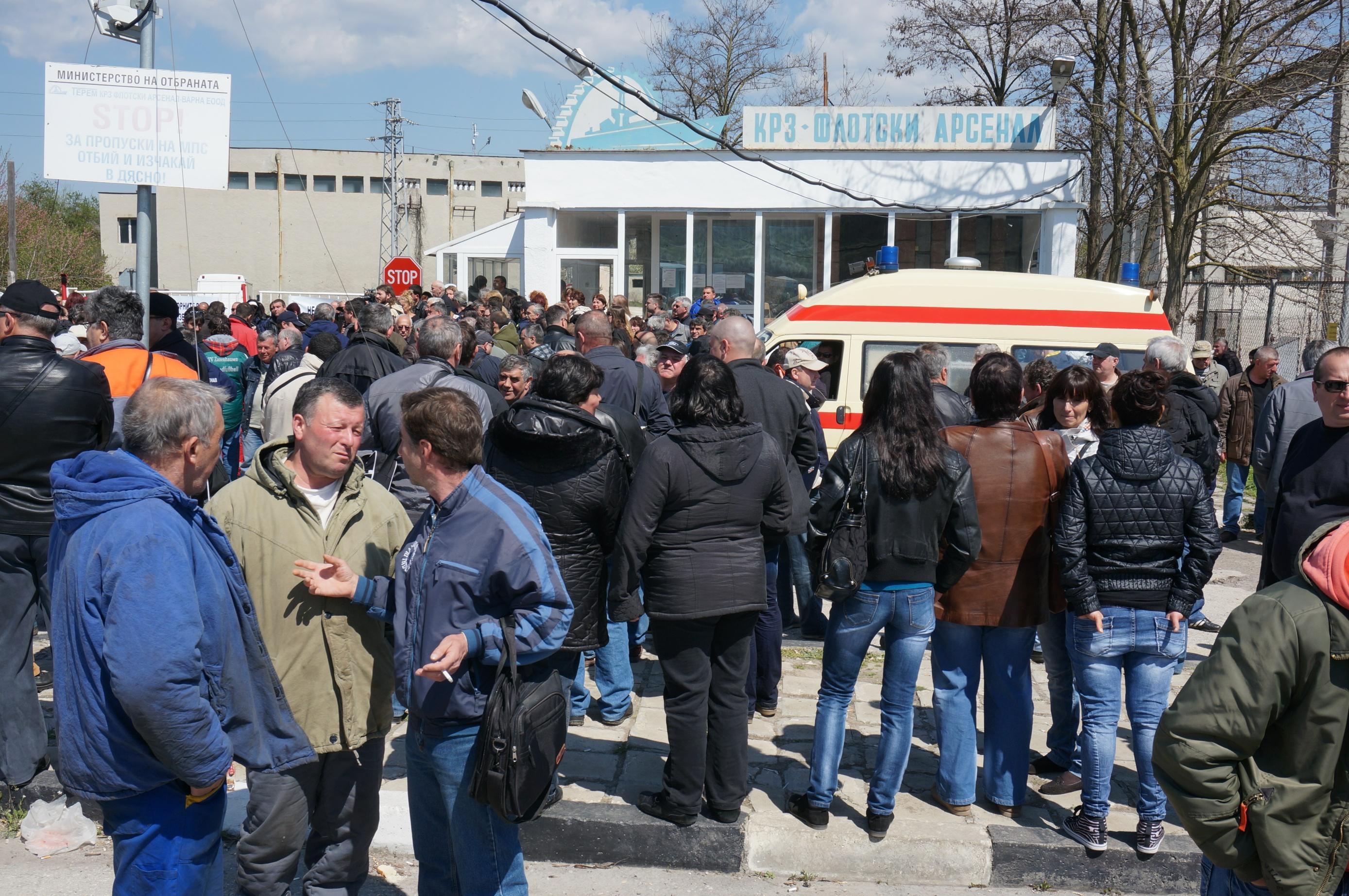 """""""Терем""""-Варна блокира път заради назначен нов шеф"""