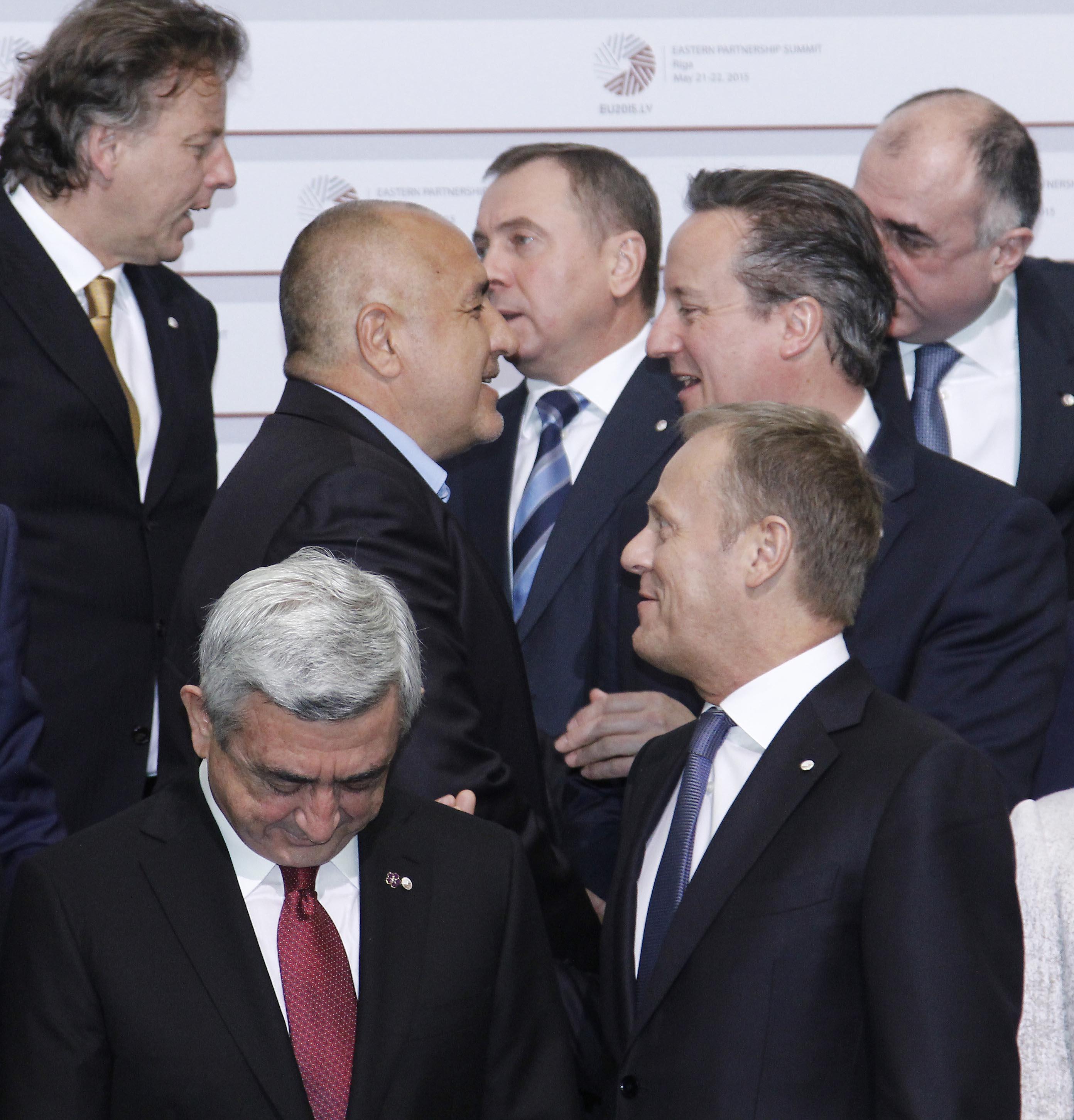 Борисов е против дилемата ЕС - Русия за 6 страни