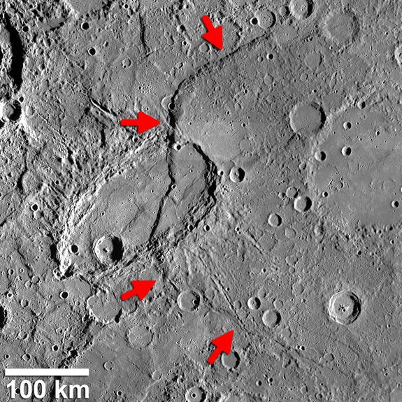 Формирования на Меркурий озадачиха учените