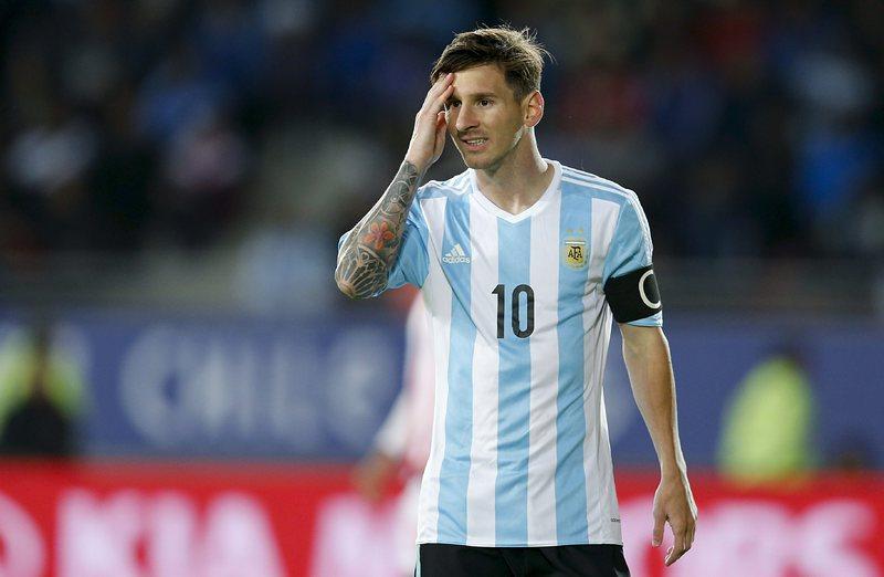Меси е готов за мача на Аржентина срещу Уругвай