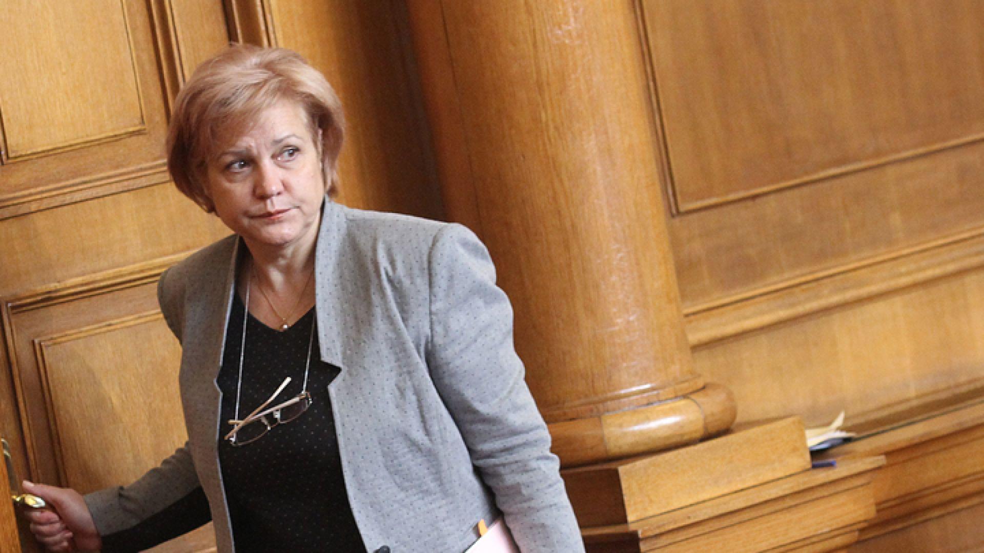 Председателят на парламентарната бюджетна комисия и депутат от ГЕРБ Менда