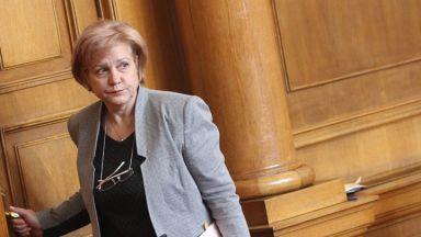 Менда Стоянова е изненадана от искането на Сидеров за оставка на Каракачанов