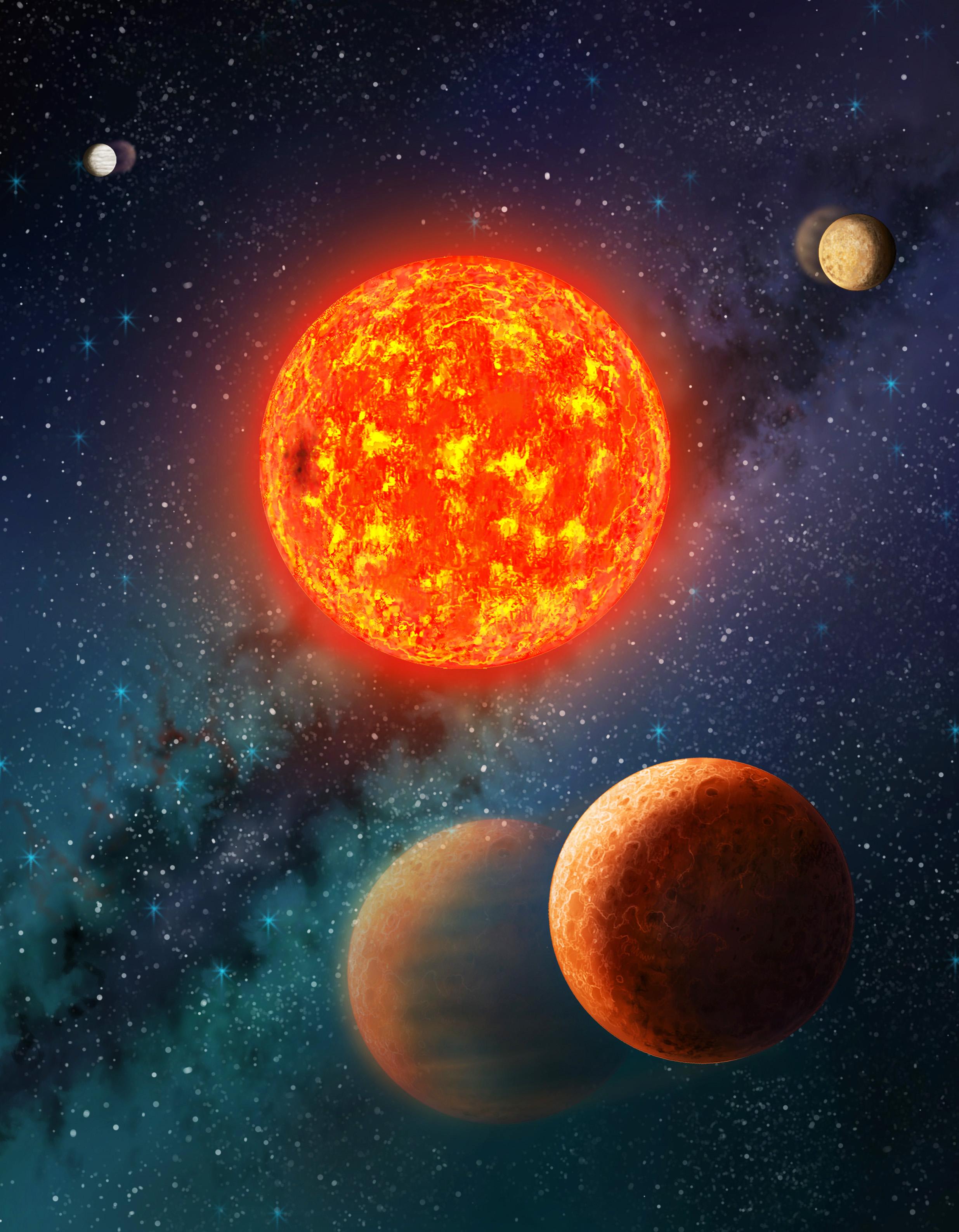 Учени измериха по-малка от Земята екзопланета