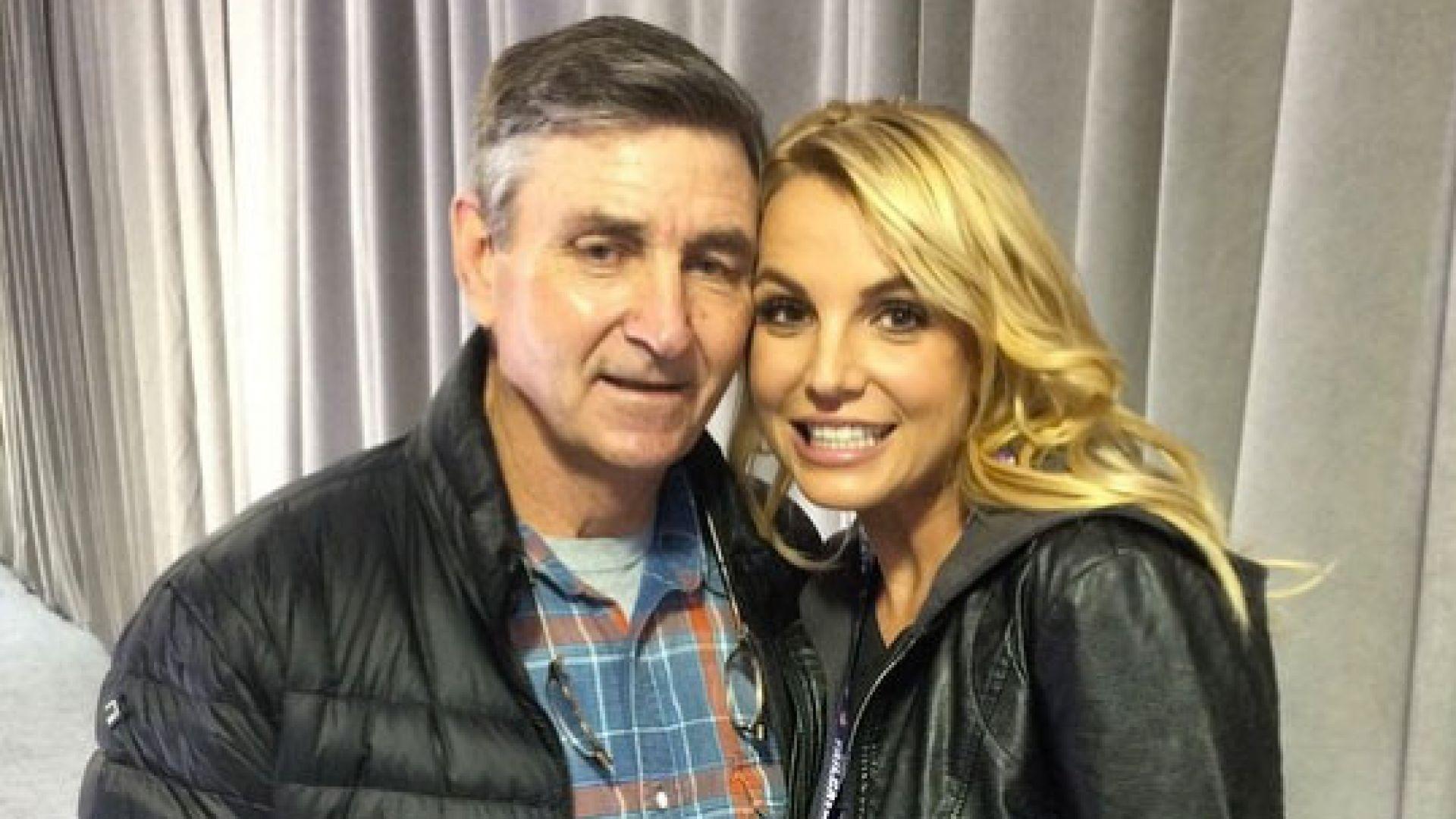 Бритни Спиърс отмени всичките си концерти, за да се грижи за баща си