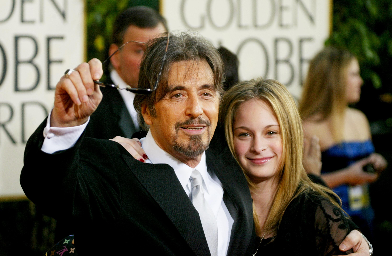 Ал Пачино с дъщеря си Джули