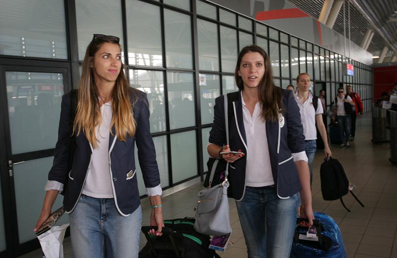 Женският национален отбор по волейбол се завърна от Баку