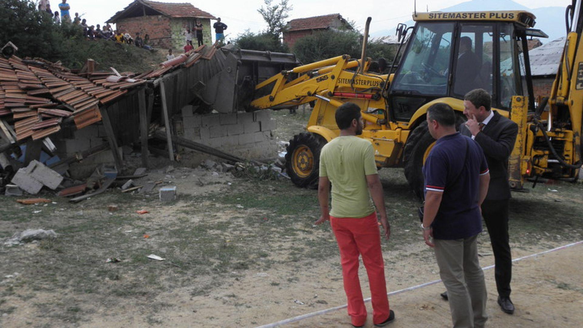Държавата спечели дело в Страсбург по жалба за разрушаване на незаконни къщи в Гърмен