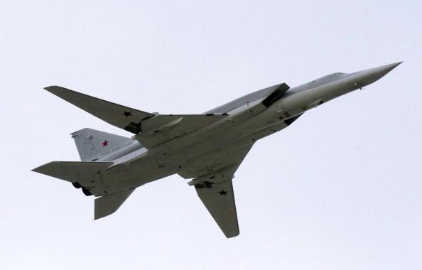 Изтребители на САЩ съпроводиха руски Ту-22М3 над две морета
