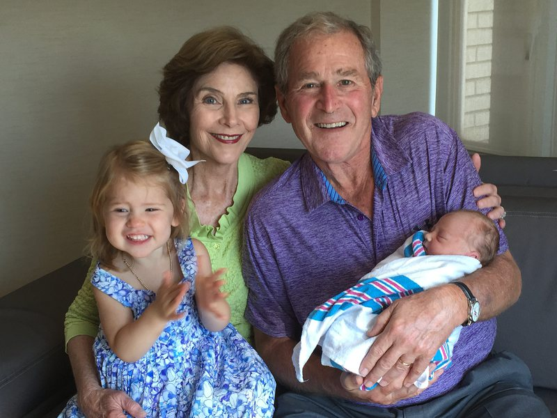 Джордж Буш стана дядо на втора внучка
