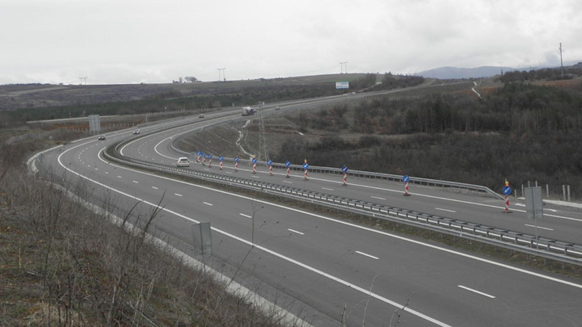 АПИ пусна обществената поръчка за 900 млн. за участъка Кресна - Крупник