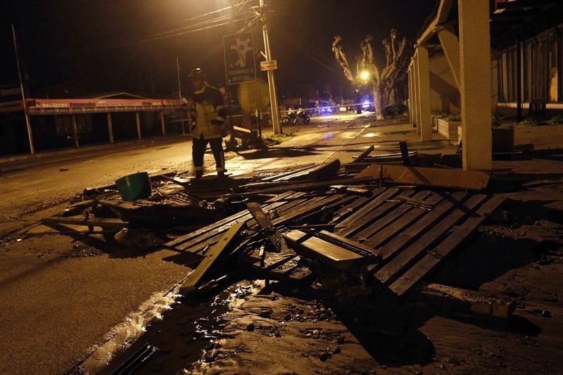 Земетресение с магнитуд 8,3 разтърси Чили