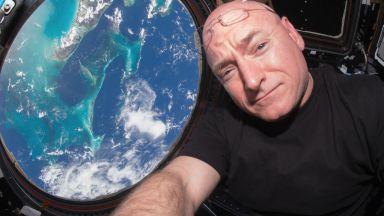 Едногодишният престой в космоса на Скот Кели е активирал прекомерно имунната му система