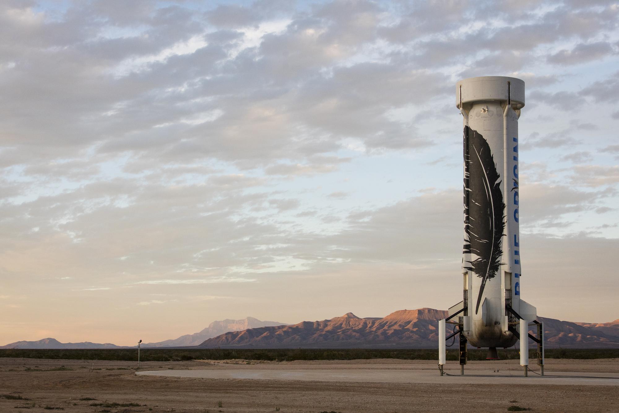 Първо кацане на ракета за многократна употреба