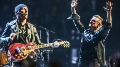U2 с 10 милиона евро за медицински служители в Ирландия