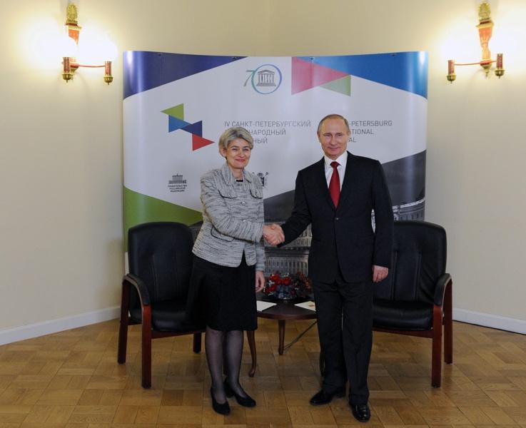 Бокова и Путин си отправиха взаимни похвали