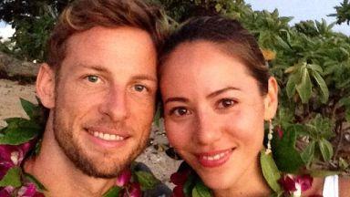 Дженсън Бътън се развежда след 1 г. брак