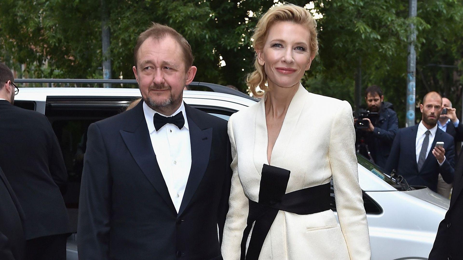 Кейт Бланшет със съпруга си Андрю Ъптън