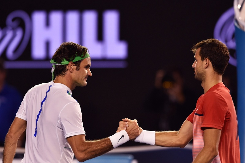 Федерер: Труден мач, Григор е страхотно момче