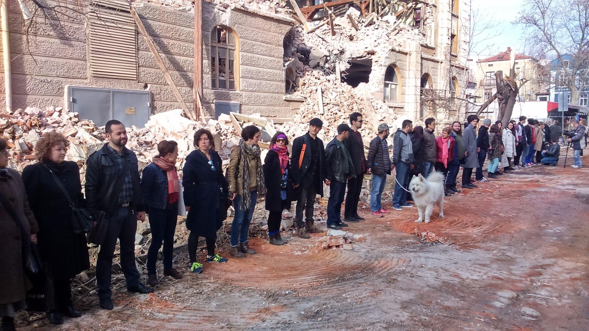 Пловдивският окръжен съд оправда напълно собствениците на съборения преди две